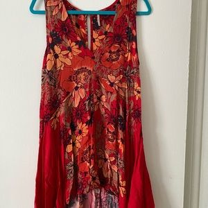 Free People Floral Dress or Tunic